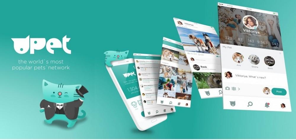 UPET - социальная сеть для домашних питомцев